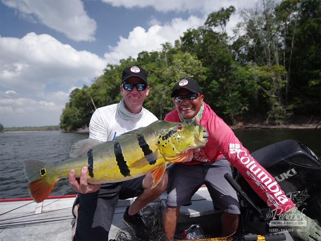 Kevin Vandam - Amazon Brazil 2016, fishing peacock bass.